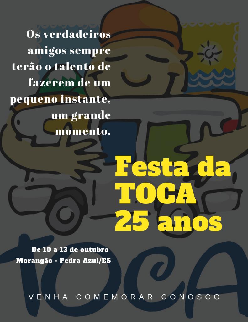 CONVITE FESTA TOCA 2019