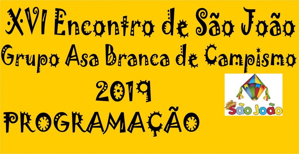 XVI GRUPO ASA BRANCA 2019